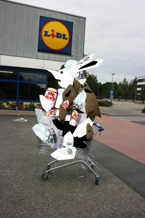 lidl shopping cart sculpture.jpg